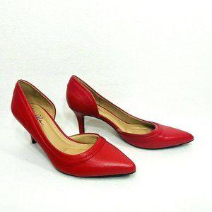 Abella True Comfort Red Satine D'Orsay Pump - Size10M  - New/No Box
